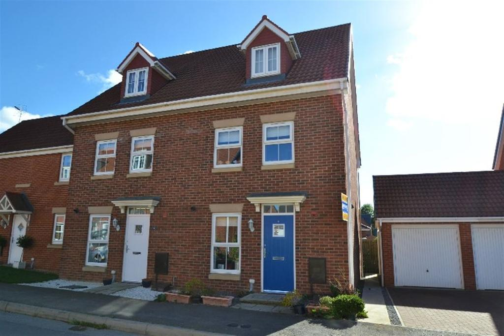 3 Bedrooms Semi Detached House for sale in Morgan Drive, Spennymoor, County Durham