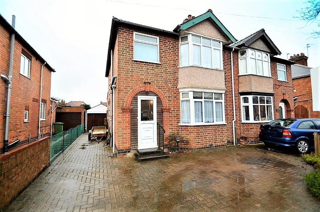 3 Bedrooms Semi Detached House for sale in Richmond Road, Hillmorton, Rugby