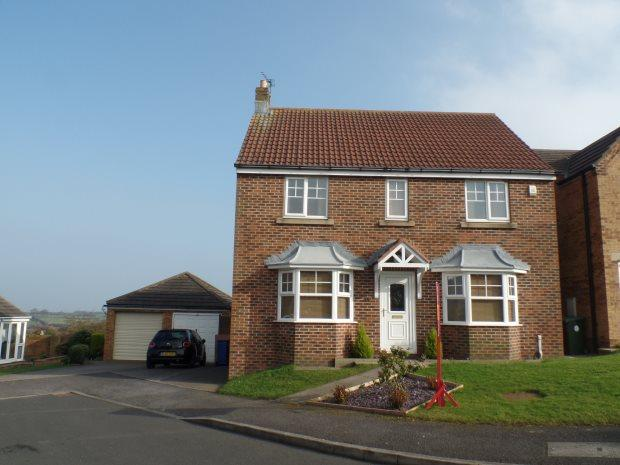 4 Bedrooms Detached House for sale in THE SPINNEY, EASINGTON VILLAGE, PETERLEE AREA VILLAGES