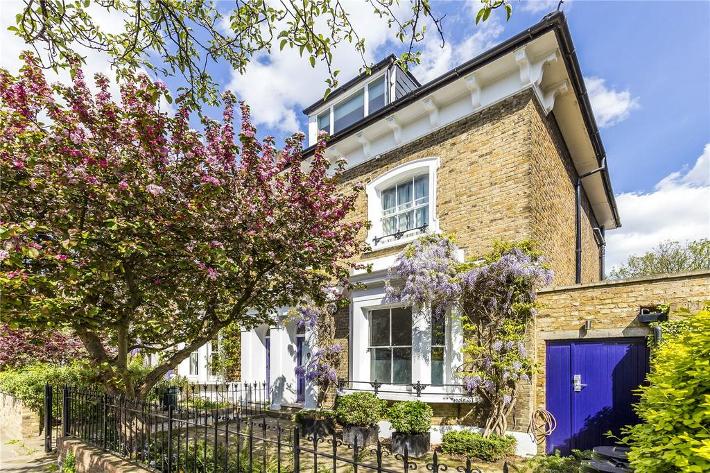 3 Bedrooms Semi Detached House for sale in Wingate Road, Brackenbury Village, London, W6