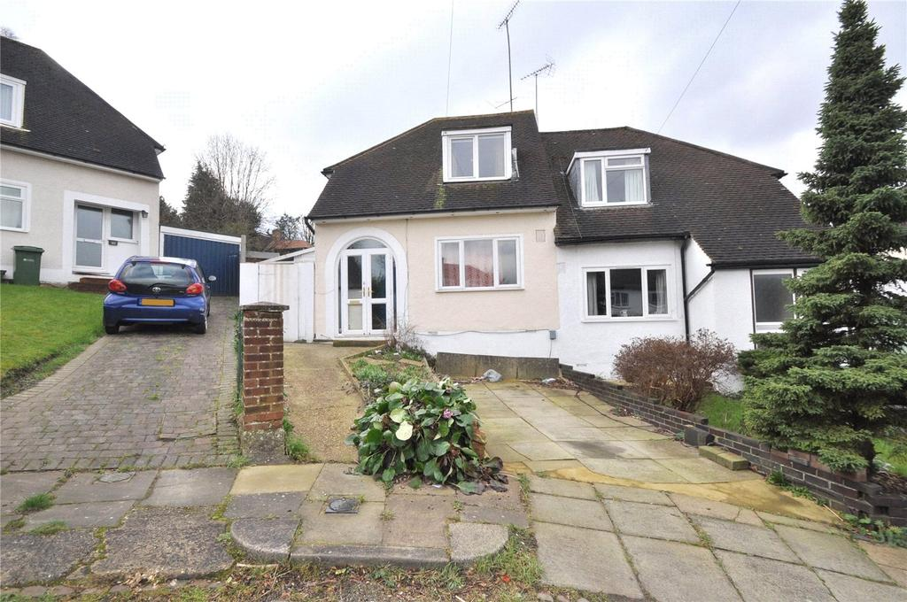 2 Bedrooms Semi Detached House for sale in Orchard Close, St. Albans, Hertfordshire