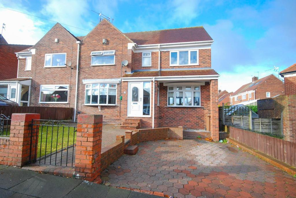 3 Bedrooms Semi Detached House for sale in Cumberland Road, Silksworth