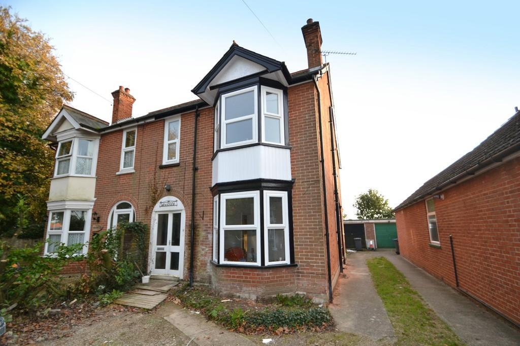 4 Bedrooms Semi Detached House for sale in Felixstowe Road, Nacton, Ipswich, Suffolk