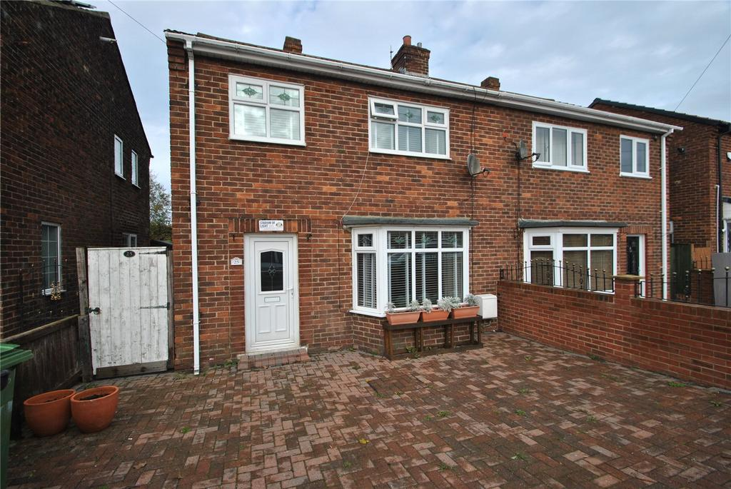 3 Bedrooms Semi Detached House for sale in Station Estate North, Murton, Co Durham, SR7