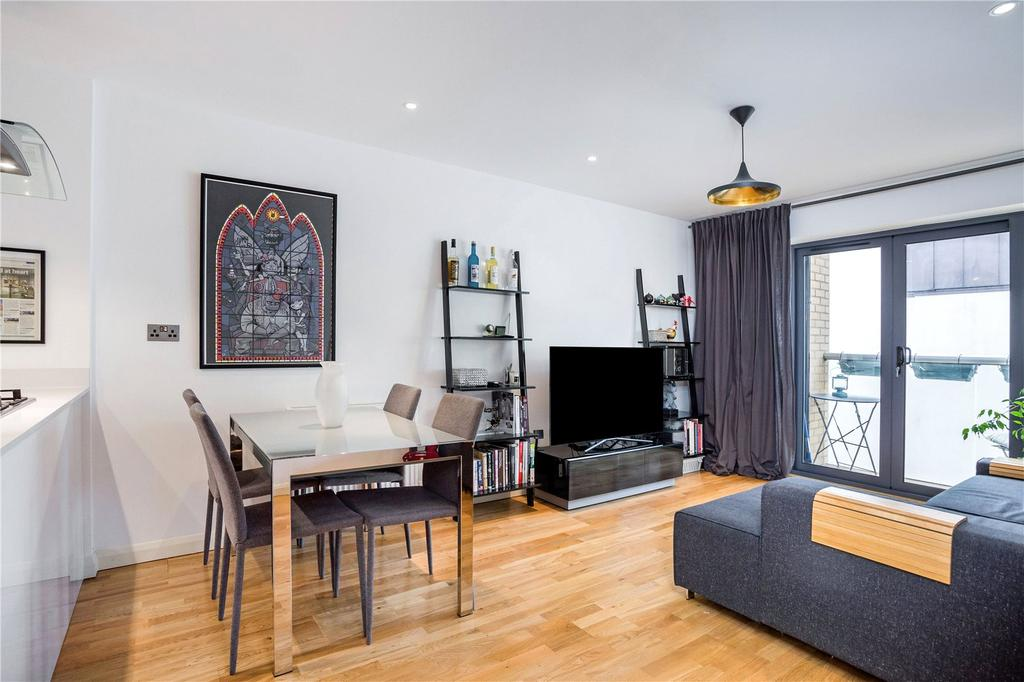 1 Bedroom Flat for sale in Alpha Court, 20 Calvin Street, Spitalfields, London, E1