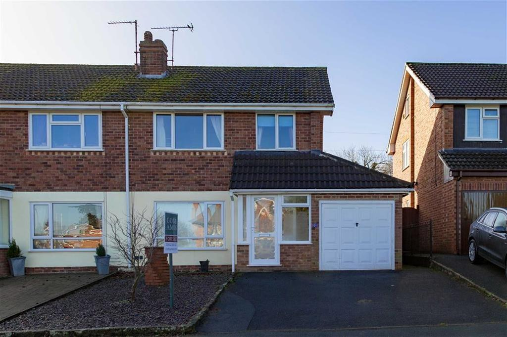 3 Bedrooms Semi Detached House for sale in Kings Acre Road, KINGS ACRE, Hereford, Hereford