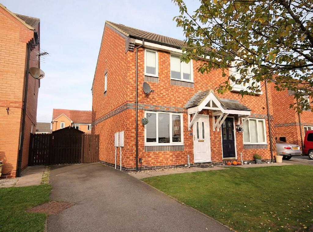 2 Bedrooms Semi Detached House for sale in Sir Douglas Park, Thornaby