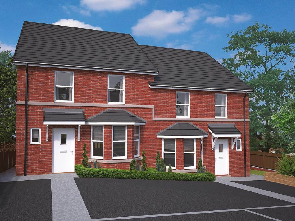 4 Bedrooms Semi Detached House for sale in Cheshire Plains, Lower Robin Hood Lane, Helsby