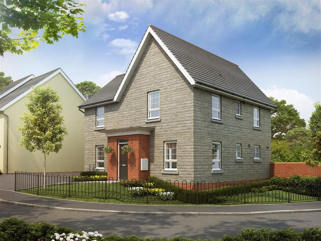 4 Bedrooms House for sale in Plot 244, Saxon Fields, Cullompton