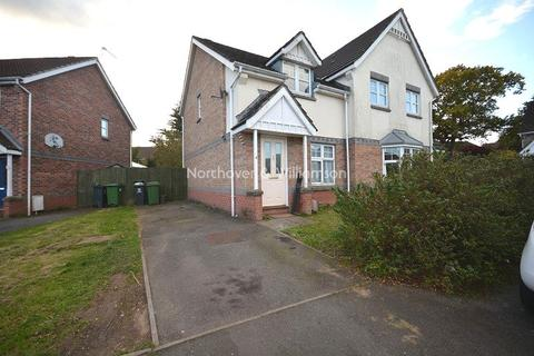 2 bedroom semi-detached house to rent - Lodwick Rise, St. Mellons, Cardiff, Cardiff. CF3