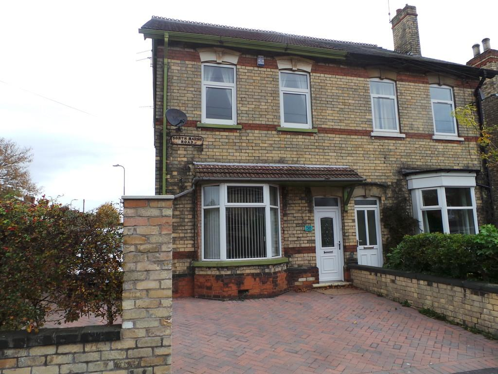 4 Bedrooms Semi Detached House for sale in North Marsh Road, Gainsborough