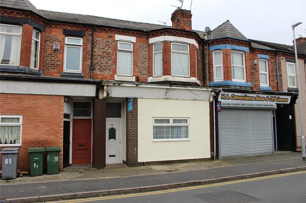 4 Bedrooms Terraced House for sale in Woodchurch Lane, Birkenhead, Merseyside, CH42