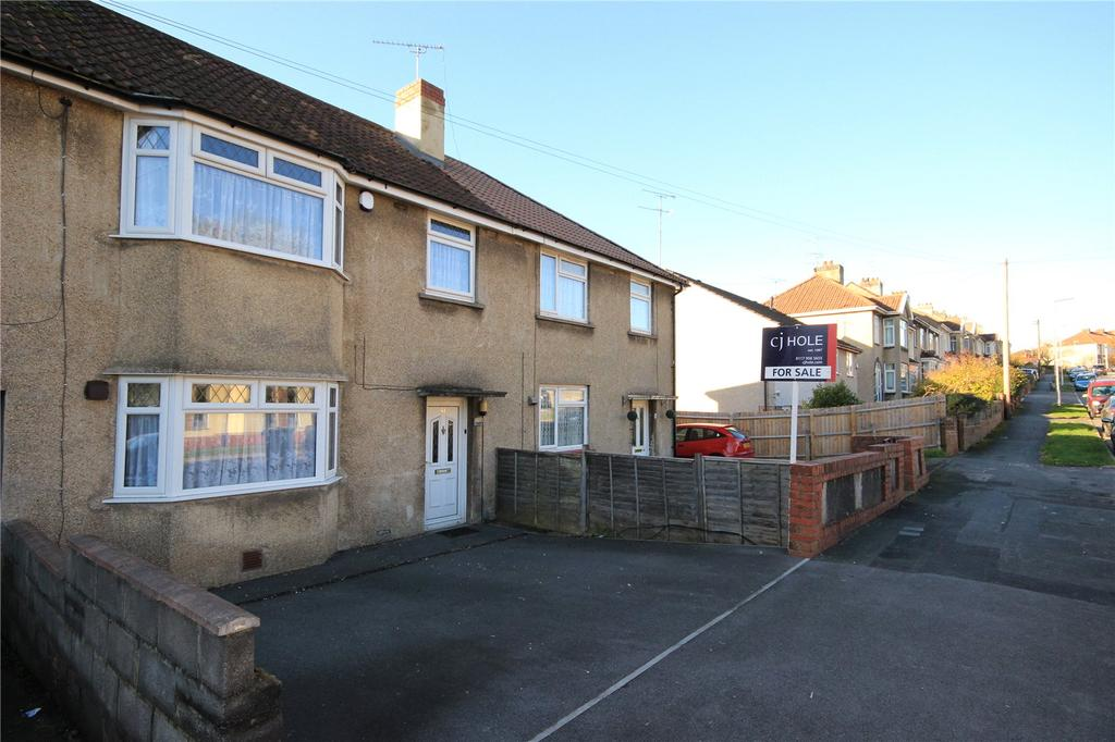 3 Bedrooms Terraced House for sale in Seymour Road, Staple Hill, Bristol, BS16