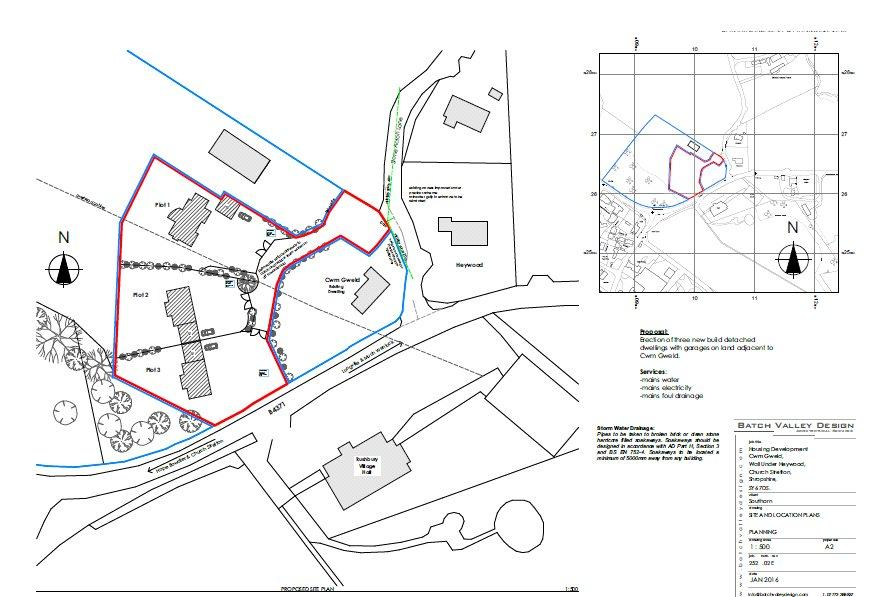 Plot Commercial for sale in Wall-under-Heywood, Church Stretton, Shropshire