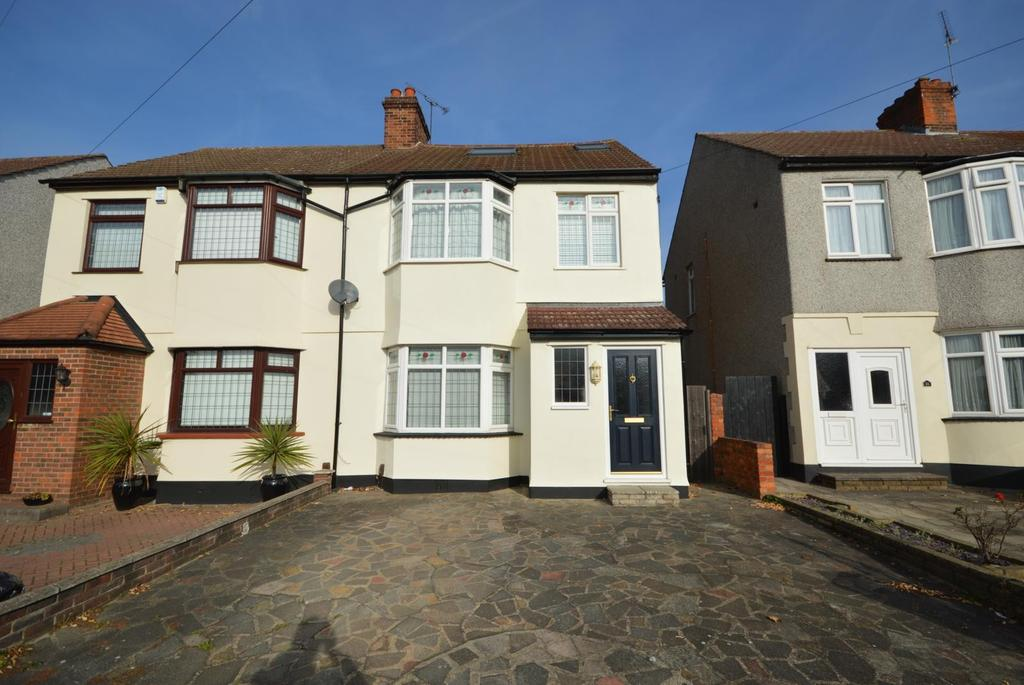 4 Bedrooms Semi Detached House for sale in Dawes Avenue, Hornchurch, Essex, RM12