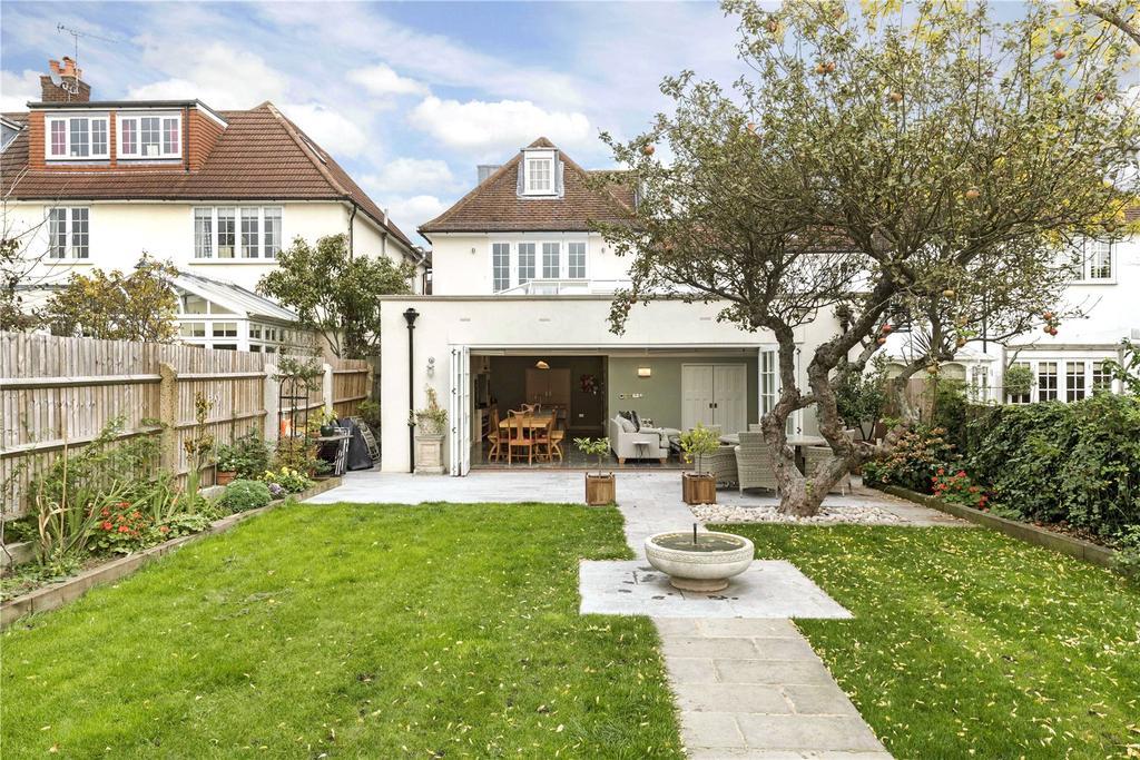 5 Bedrooms Semi Detached House for sale in Ellerton Road, Magdalen Estate, London, SW18