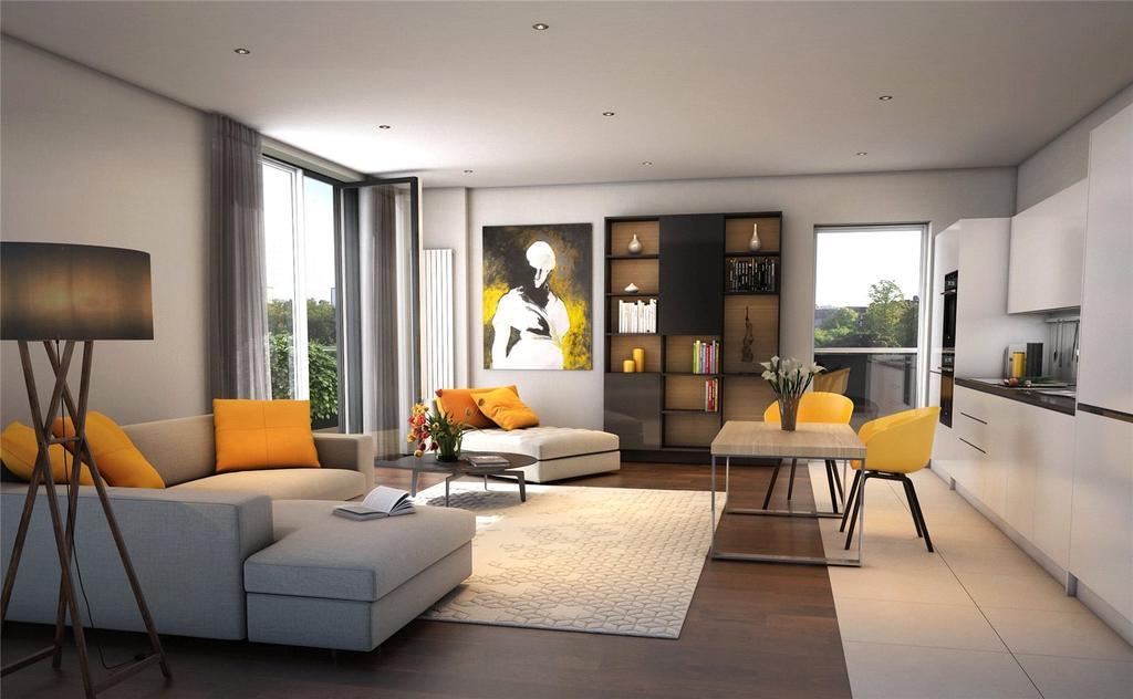 3 Bedrooms Flat for sale in Plot 92 - The Botanics, Glasgow, G12