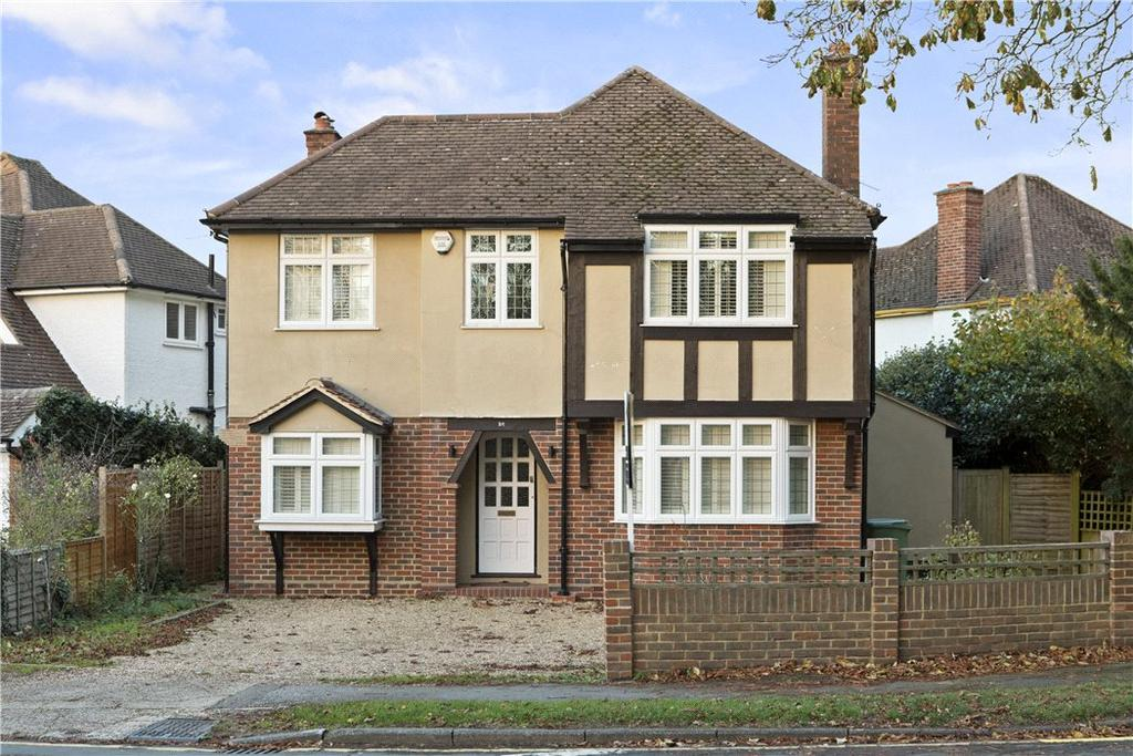 4 Bedrooms Detached House for sale in Bray Road, Stoke d'Abernon, Cobham, Surrey, KT11