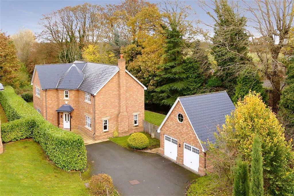 4 Bedrooms Detached House for sale in Silverways Drive, Gobowen, Oswestry, SY11
