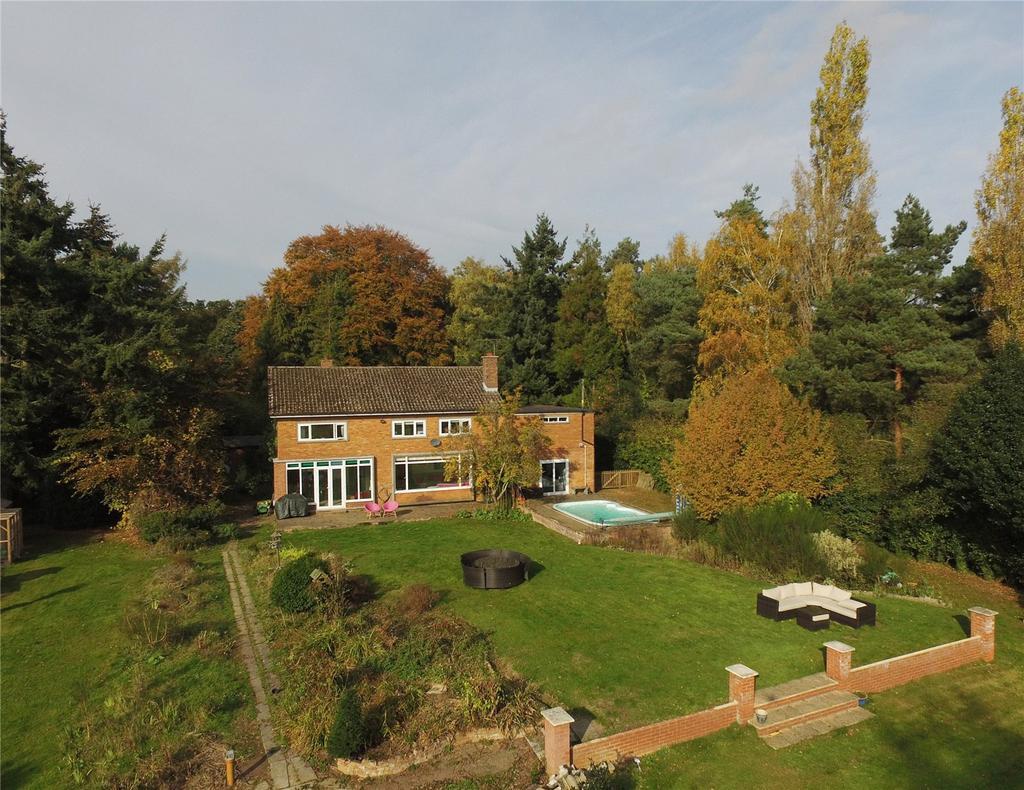 6 Bedrooms Detached House for sale in Little Bealings, Woodbridge, Suffolk, IP13