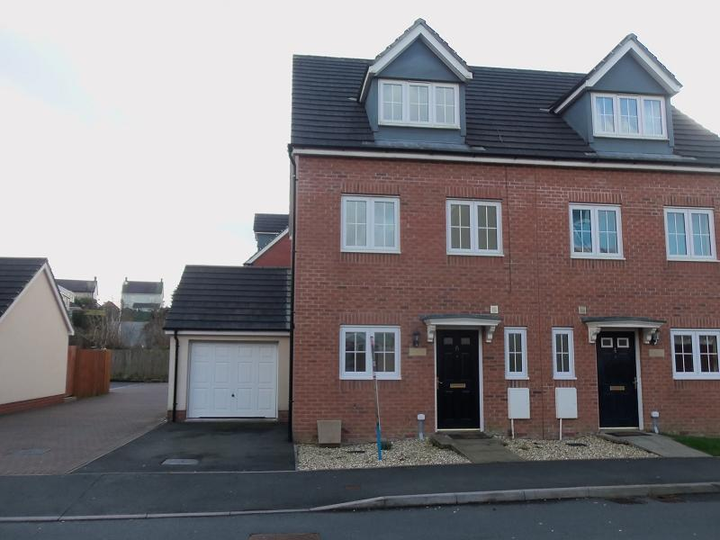 3 Bedrooms Semi Detached House for sale in Maes Yr Ehedydd Carmarthen, Carmarthenshire.