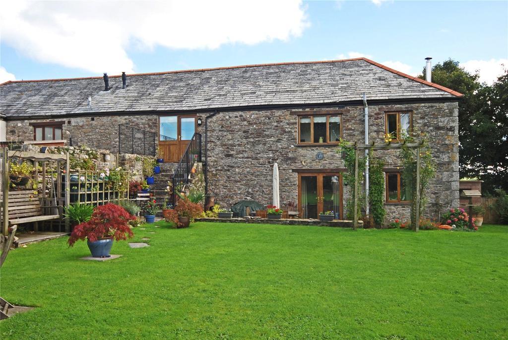 4 Bedrooms Barn Conversion Character Property for sale in Tredaule Manor Farm, Altarnun, Tredaule, Launceston