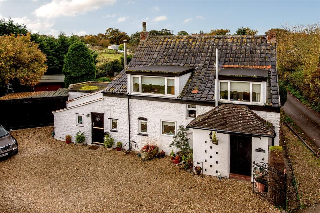 4 Bedrooms Detached House for sale in Skimmerton Lane, Wembdon, Bridgwater, Somerset