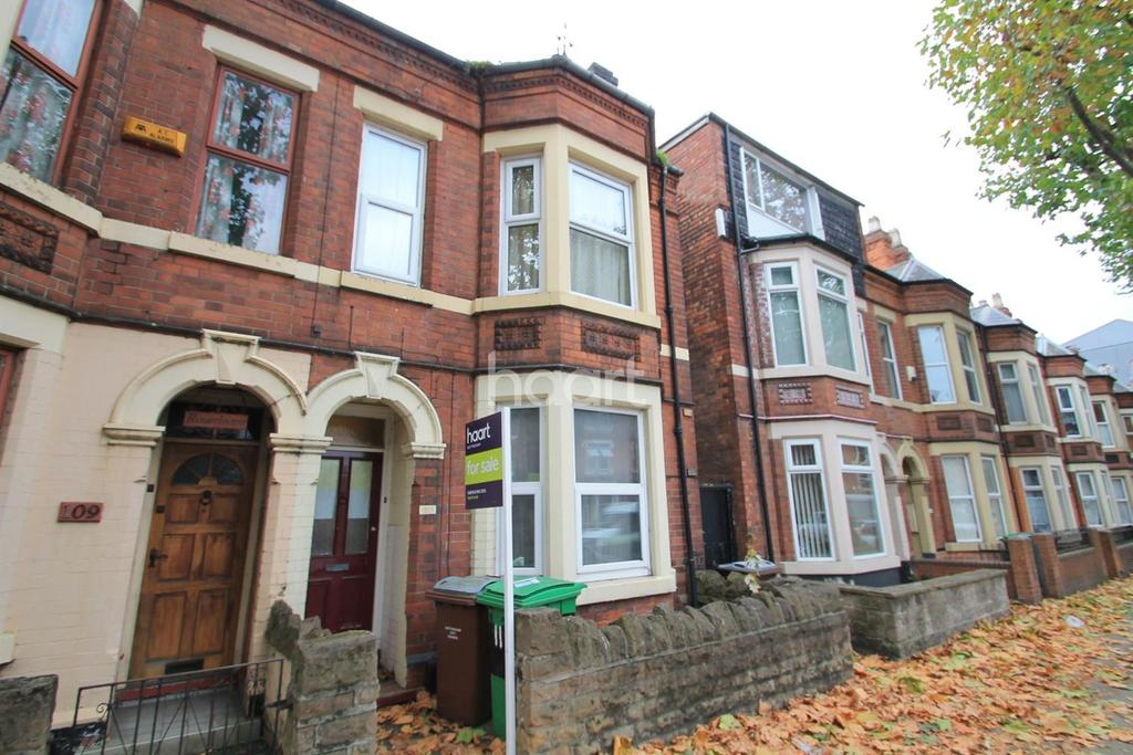 4 Bedrooms Terraced House for sale in Radford Boulevard, Radford
