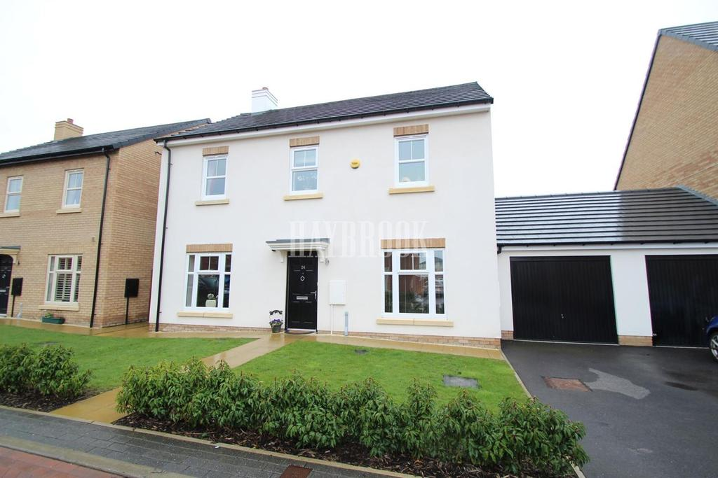 4 Bedrooms Detached House for sale in Glencrest Way, Wath-upon-dearne