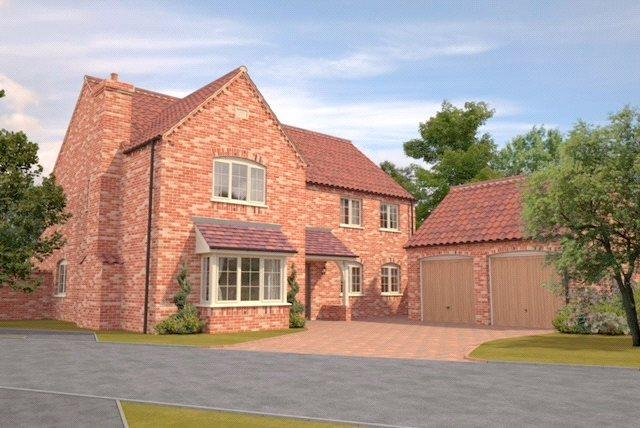 4 Bedrooms Detached House for sale in Pinfold Lane, Ruskington, Sleaford, Lincolnshire, NG34