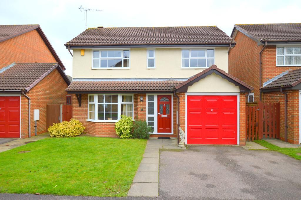 4 Bedrooms Detached House for sale in Whitehaven, Luton, LU3 4BY