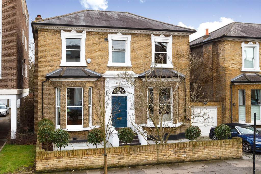 4 Bedrooms Detached House for sale in Eaton Rise, Ealing, London, W5