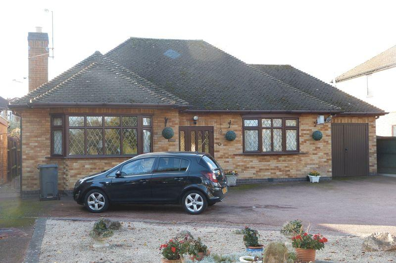 2 Bedrooms Detached Bungalow for sale in Welford Road, Wigston borders