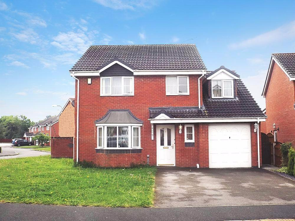 4 Bedrooms Detached House for sale in Goodwood Grove, Wrexham, LL13