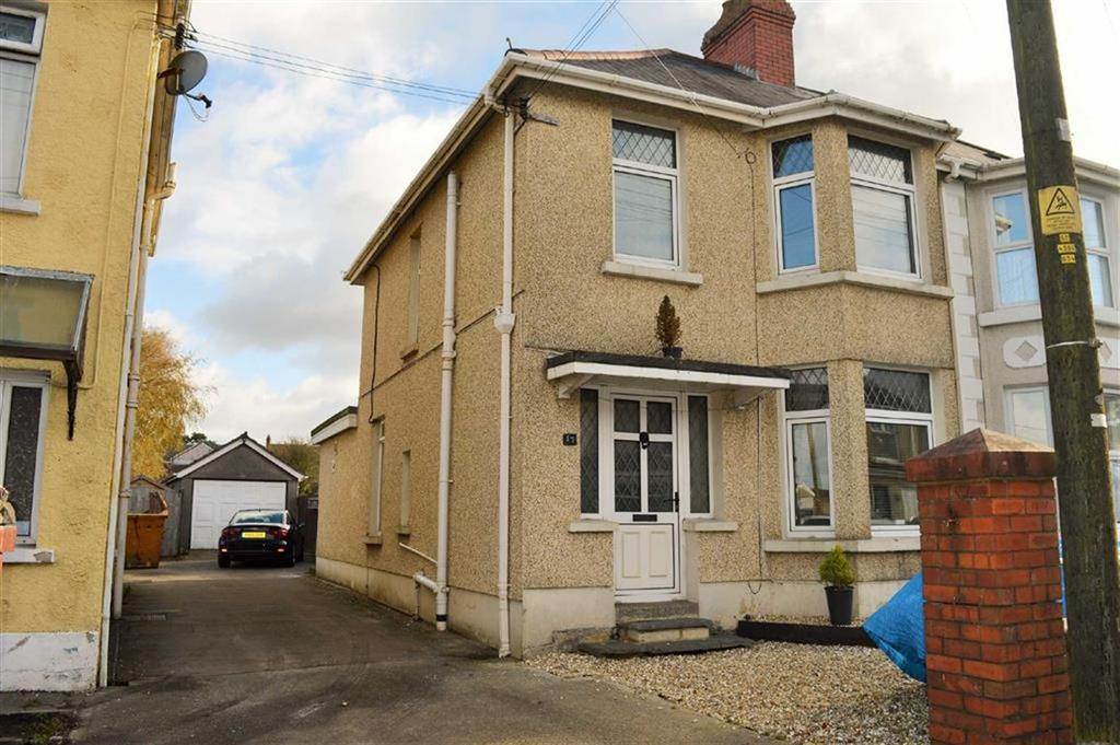 3 Bedrooms Semi Detached House for sale in Bryn Road, Swansea, SA4