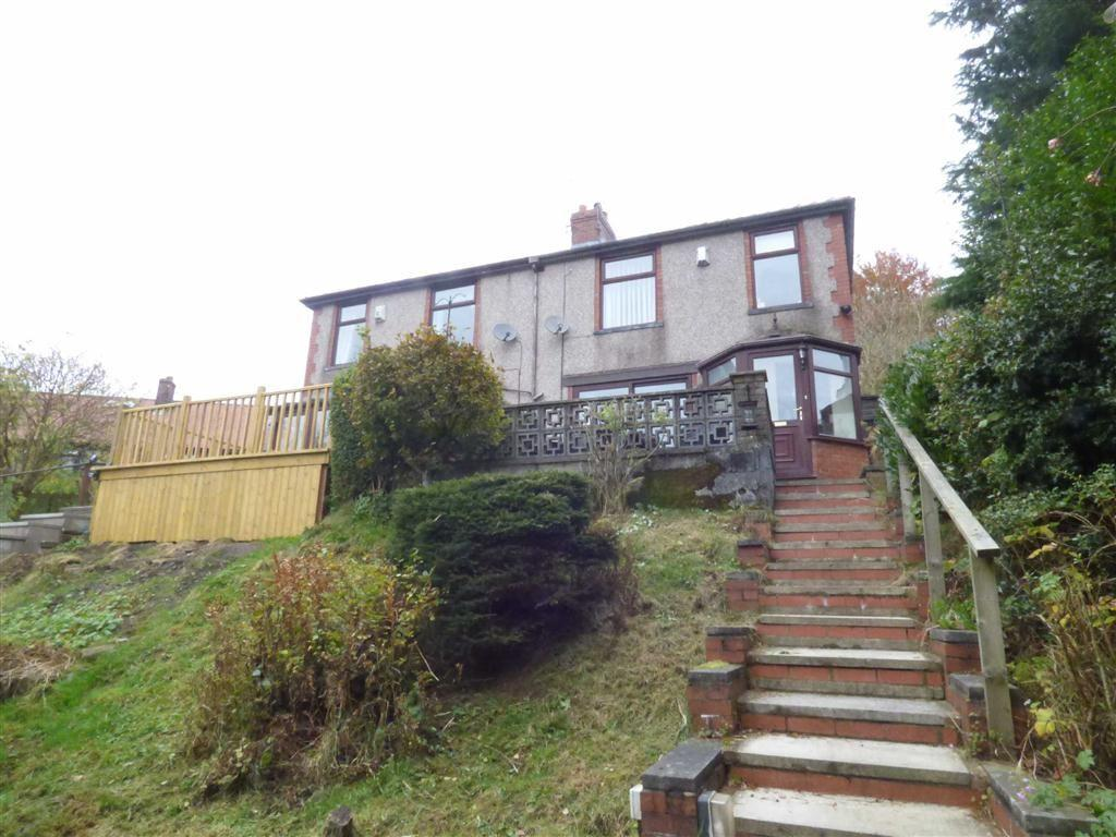 3 Bedrooms Semi Detached House for sale in Fernhill Drive, Bacup, Lancashire, OL13