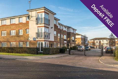 2 bedroom flat to rent - Hanbury House, Akerlea Close, Netherfield, Milton Keynes