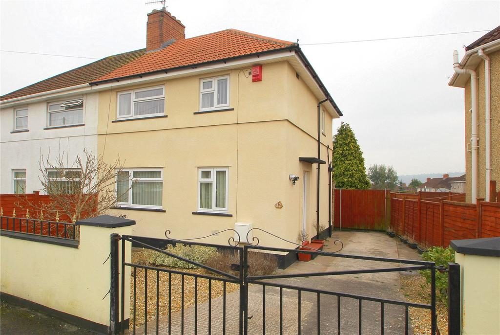 3 Bedrooms Semi Detached House for sale in Felton Grove, Bedminster Down, Bristol, BS13