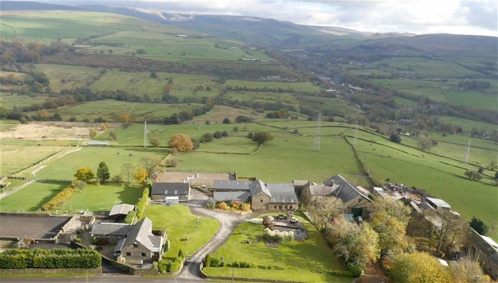4 Bedrooms Country House Character Property for sale in Broadhurst Edge Farm, High Peak, Derbyshire