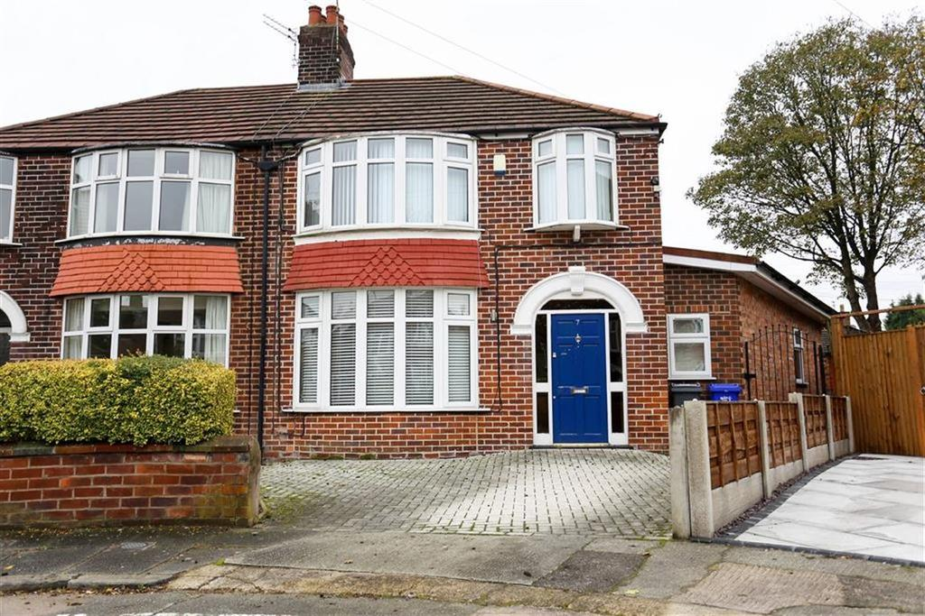 4 Bedrooms Semi Detached House for sale in Ferngate Drive, Withington, Manchester