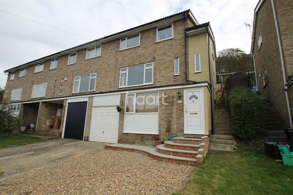4 Bedrooms End Of Terrace House for sale in Flamborough Close, Biggin Hill