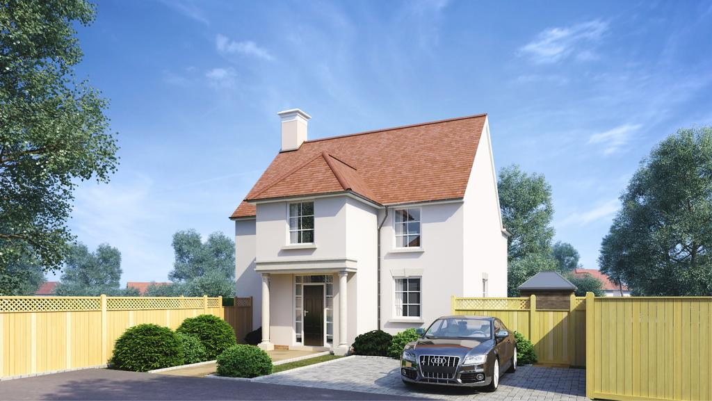 4 Bedrooms Detached House for sale in Arle House, Twyford, Winchester