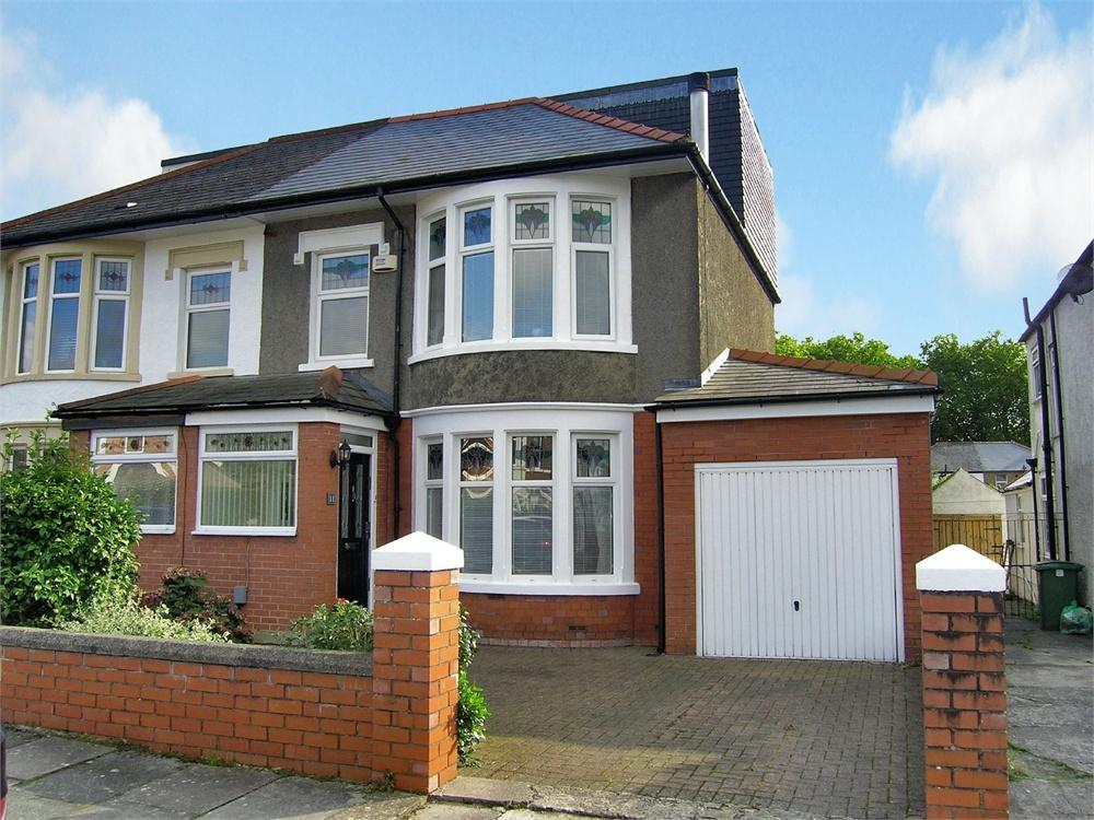 4 Bedrooms Semi Detached House for sale in St Gowan Avenue, Heath, Cardiff
