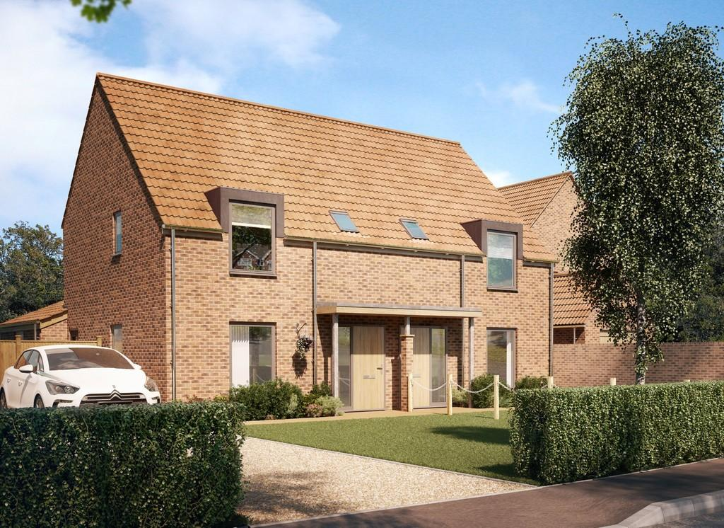 3 Bedrooms Semi Detached House for sale in Stoke Holy Cross, Norwich, Norfolk