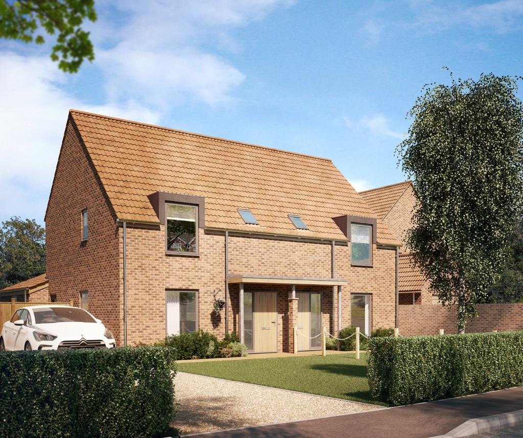 3 Bedrooms Semi Detached House for sale in Stoke Holy Cross, Norwich, Norfolk