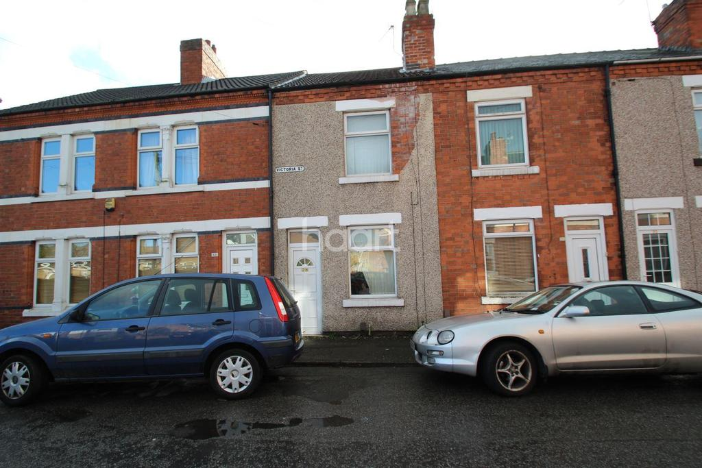 2 Bedrooms Terraced House for sale in Victoria Street, Hucknall