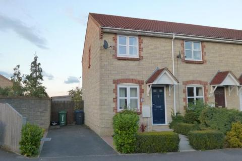 2 bedroom end of terrace house to rent - NIGHTINGALE DRIVE, WESTBURY