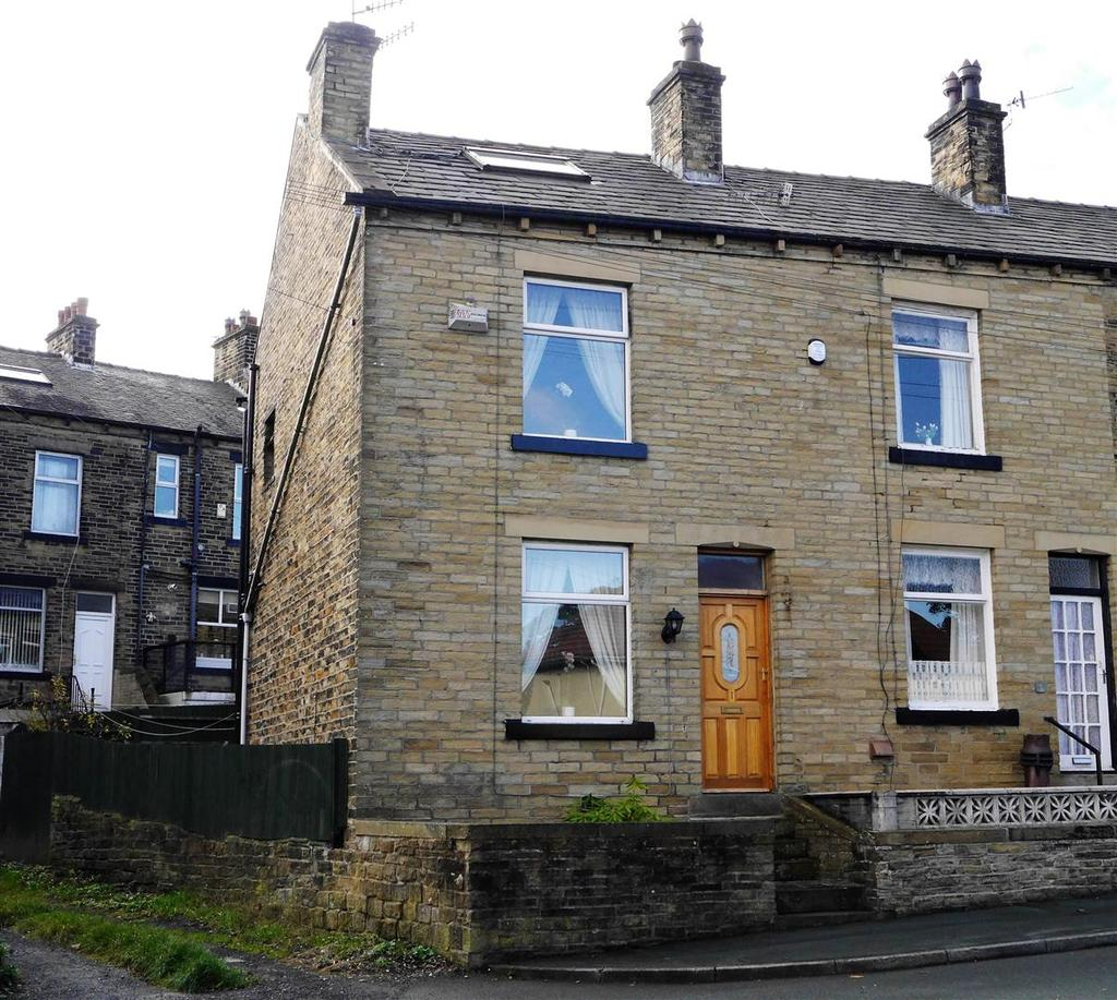 4 Bedrooms End Of Terrace House for sale in Windermere Road, Horton Bank Top, Bradford, BD7 4RQ