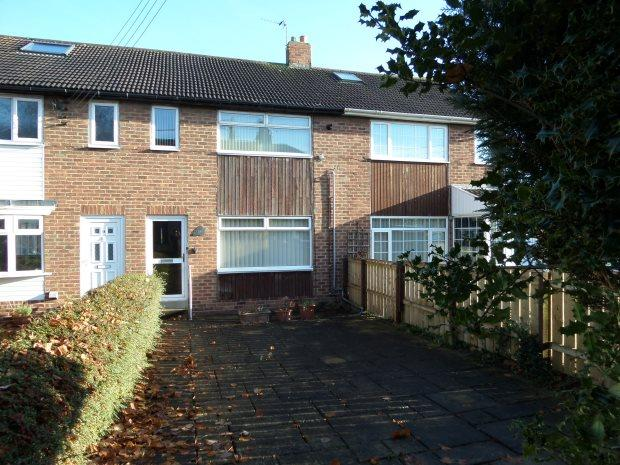 3 Bedrooms Terraced House for sale in CAMBRIDGE TERRACE, BOWBURN, DURHAM CITY : VILLAGES EAST OF