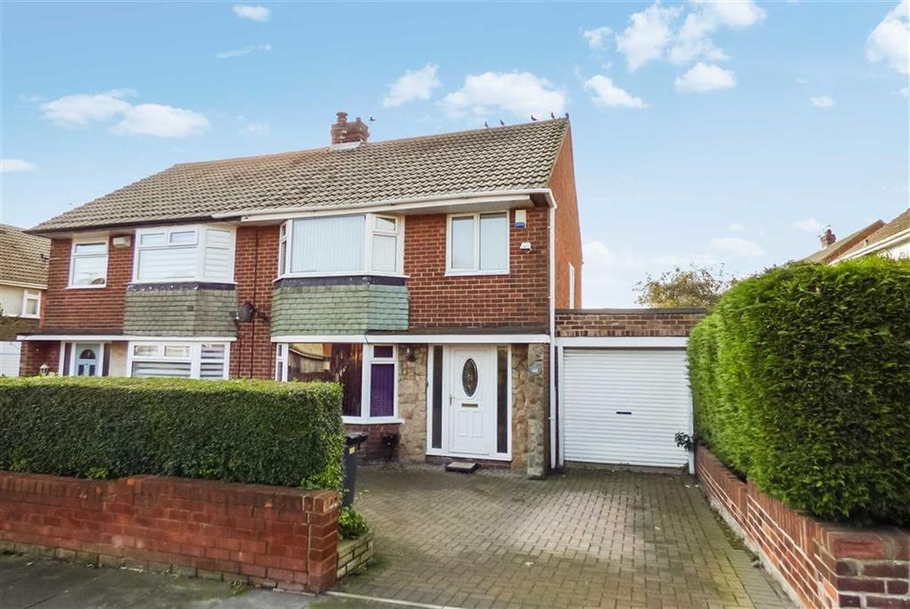 3 Bedrooms Semi Detached House for sale in St Anselm Road, North Shields